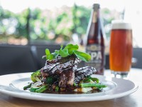 Sticky ribs and beer at Unity Brasserie_Shirley Berko