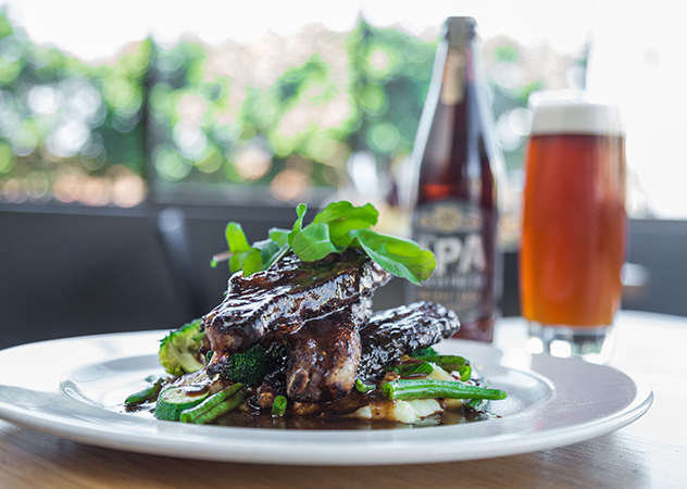 Sticky ribs and craft beer at Unity Brasserie_Shirley Berko
