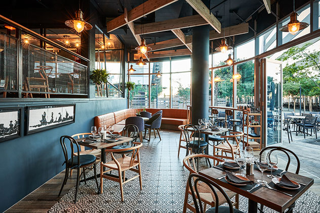 Large windows make this a great spot for lunchtime meetings with plenty of sunshine. Photo supplied.