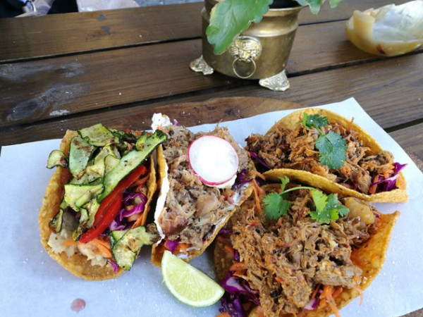 The tacos at Cabron. Photo by Lauren Josephs.