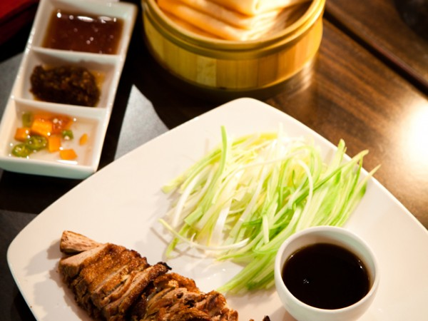 Duck and pancakes from Chef Pon's. Photo supplied.