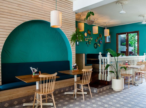 The stylish interior at El Burro in Newlands. Photo supplied.