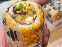Sushi Burrito & Co's sushi burrito.