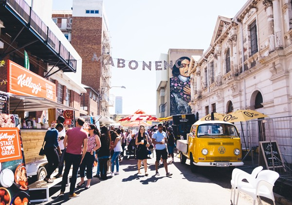 The Street Food Festival in Maboneng, Johannesburg. Photo supplied.