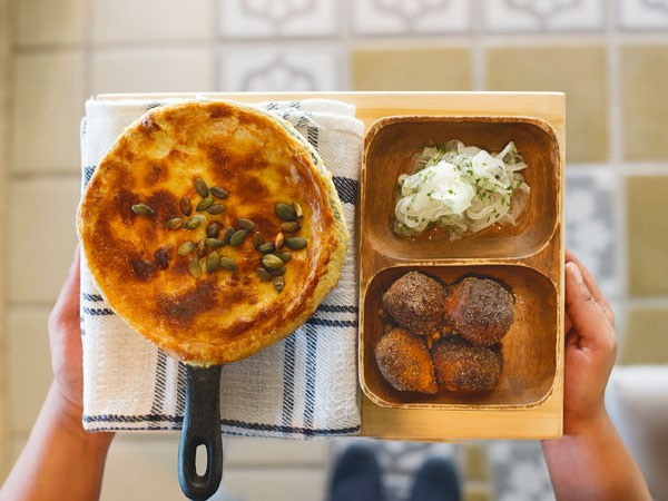 A comforting dish at Bertus Basson at Spice Route. Photo supplied.