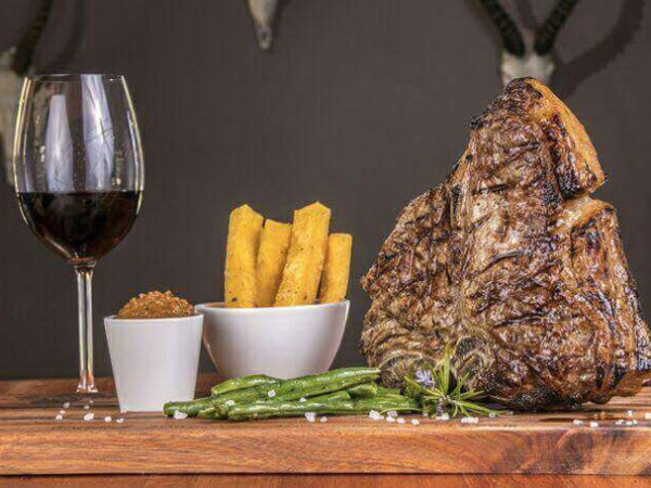 A hearty feast at Buffelsfontein Beesboerdery. Photo supplied.