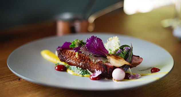 A dish from Foxcroft, who took home the Eat Out Retail Capital Best New Restaurant Award in 2016. Photo by Claire Gunn.