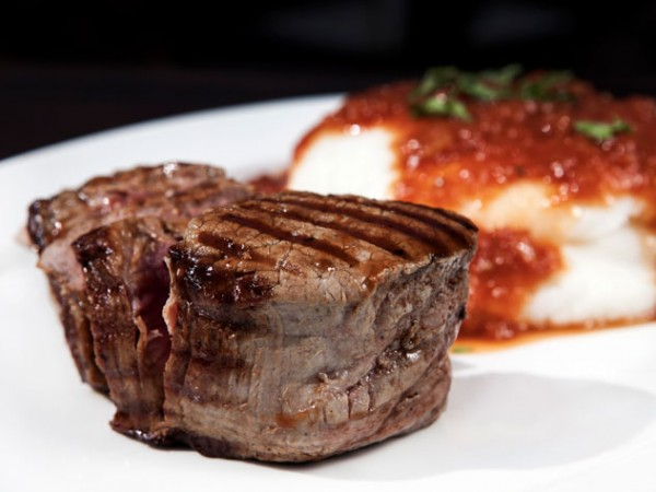 Turn 'n Tender's fillet steak with pap and gravy. Photo supplied.