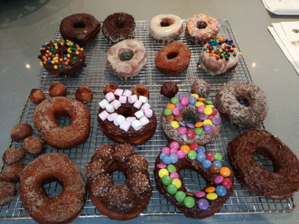 An assortment of doughnuts from D's Nuts.  Photo supplied.