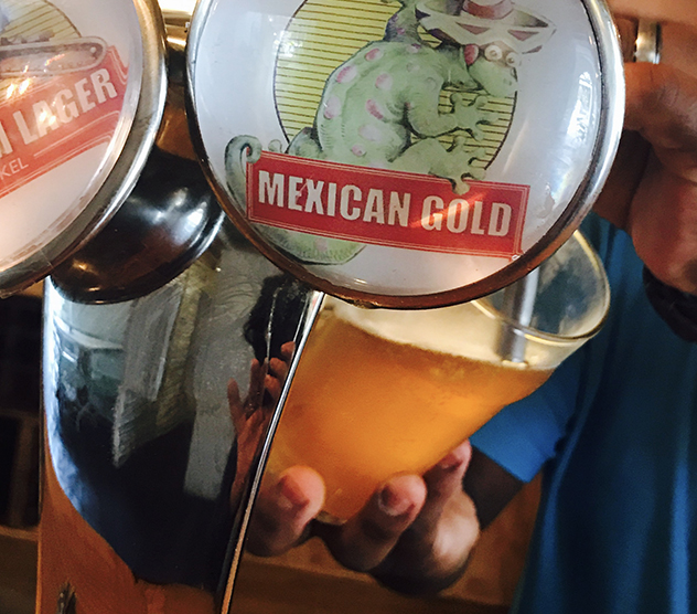 Mexican Gold on tap