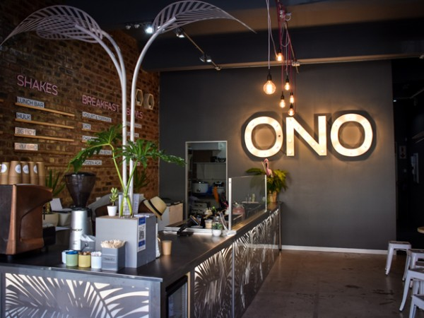 The interior at ONO. Photo supplied.