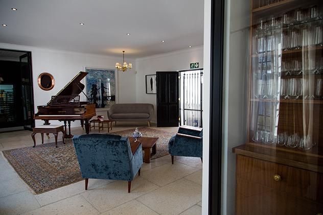 Piano room at NCW