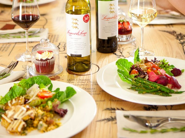 A Sunday spread at Leopard's Leap. Photo supplied.