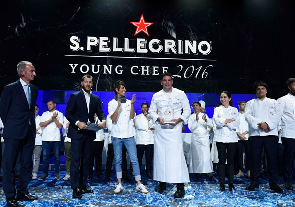 The 2016 S. Pellegrino Young Chef of the Year. Photo supplied.