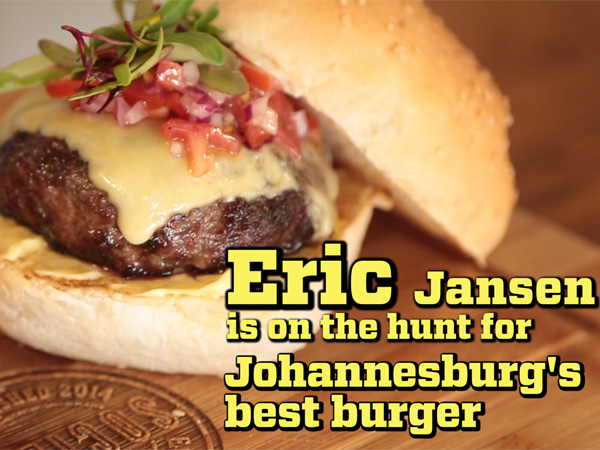 Watch: Comedian Eric Jansen hunts for Joburg's best burger