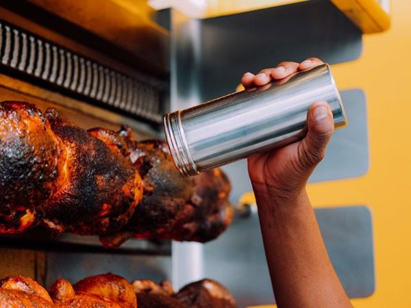 Rotisserie Chicken Flatbreads And Dips Popular Joburg Food Truck