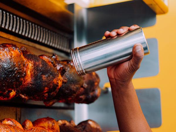 Rotisserie chicken, flatbreads and dips: Popular Joburg food truck opens street-food deli in Illovo