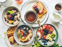 Brunch ='' brreakfast + lunch and anything is up for grabs