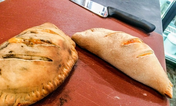 The Cuban-style calzones at Forkies. Photo supplied.