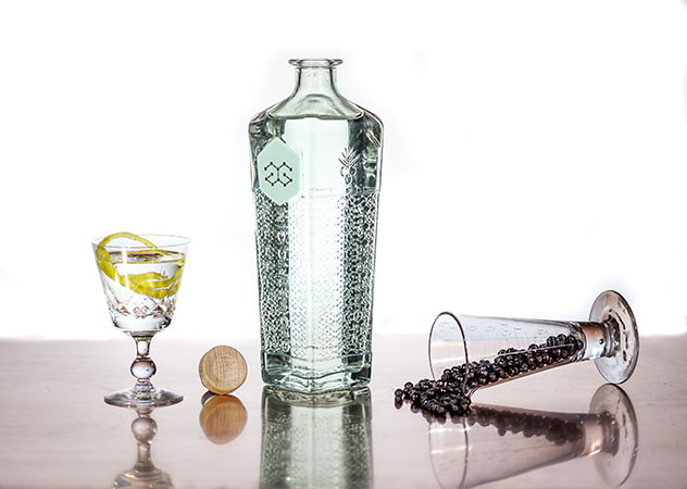 Jean-Baptiste Cristini joined forces with Mullineux wines to make the gin. Photo supplied.