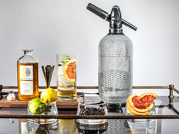 Geometric Gin: The new local gin made using grapes