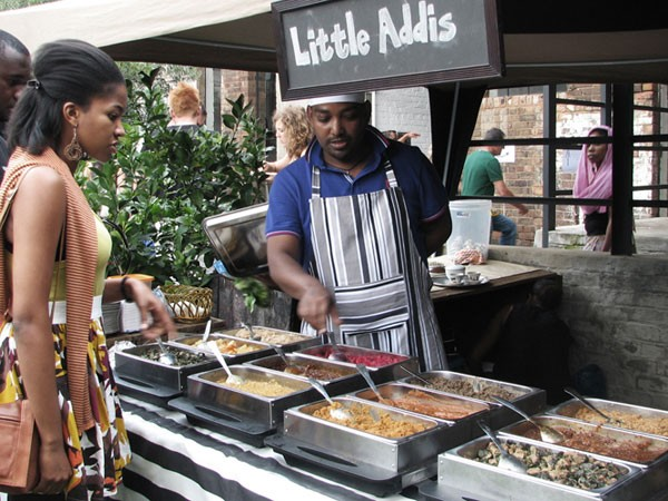 Little Addis stall at Market on Main. Photo supplied.