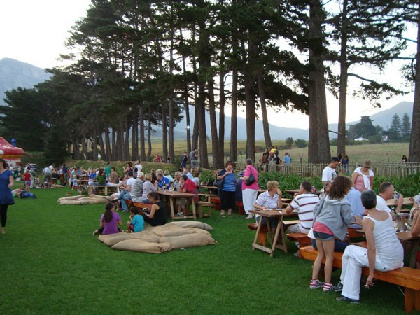 The setting for the Pizza & Pasta Festival at The Range in Tokai. Photo supplied.