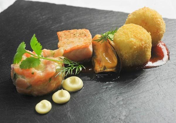 Chef Jean-Pierre's starter. Photo supplied.