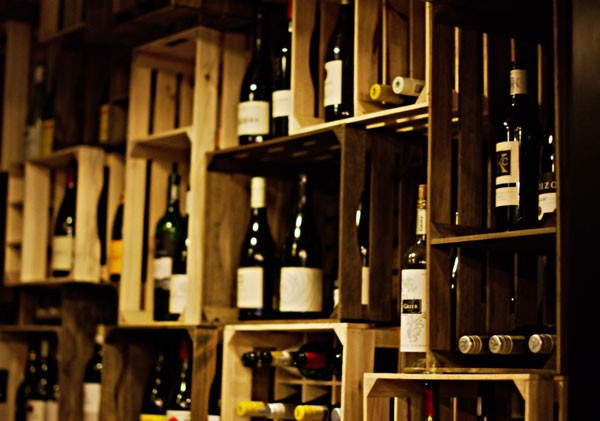 The wine selection is impressive. Photo courtesy of the restaurant.