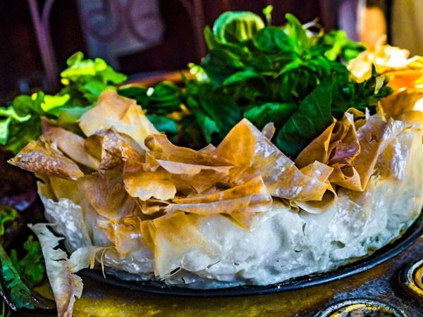 A phyllo tart from Bryanston Organic Market. Photo supplied.