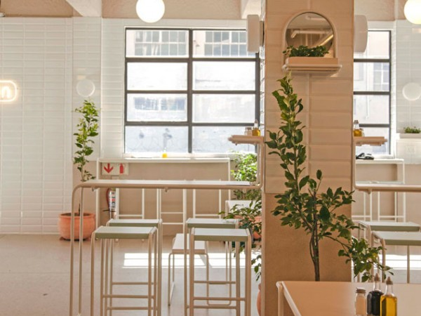 The clean, stylish setting at Canteen. Photo supplied.