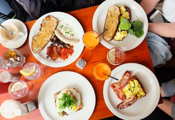 Brunching at Clarke's on Bree Street. Photo supplied.