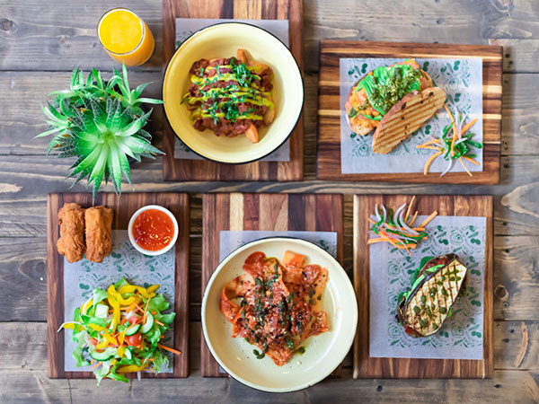 Restaurants with great vegan options in KZN