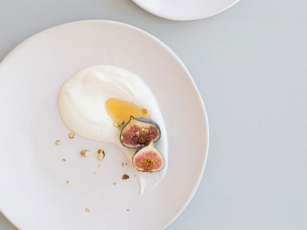 Yoghurt and figs at Meraki. Photo supplied.