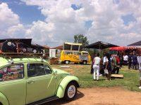 Various Food Trucks at the market
