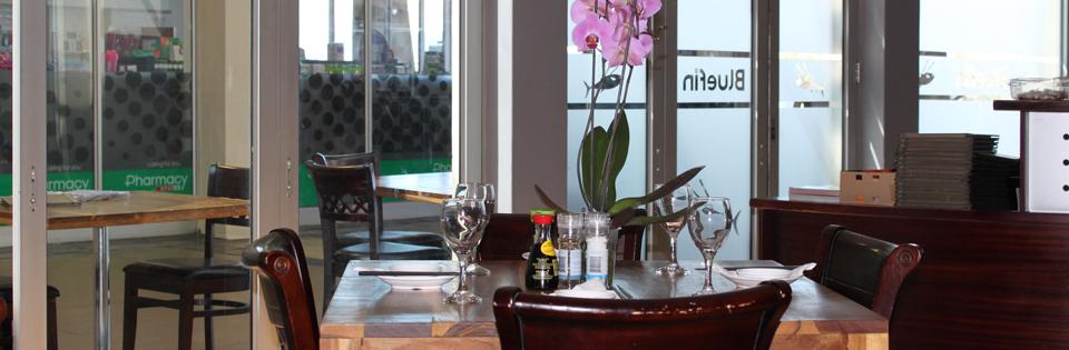 Inside at Bluefin Restaurant