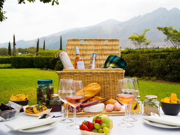 Perfect picnics in the Winelands