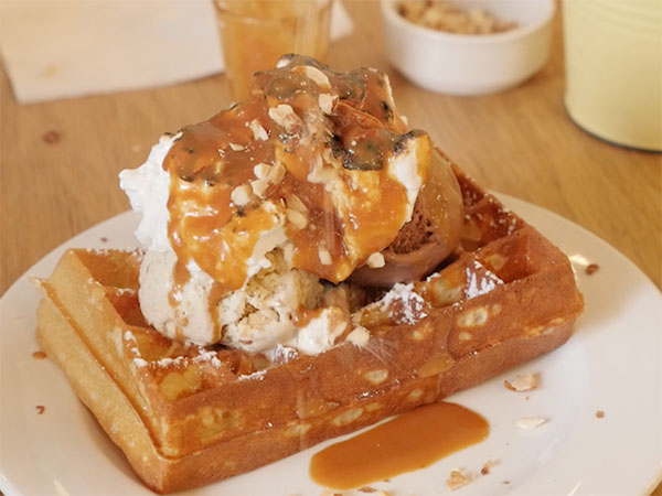Watch: Food blogger Claire Allen searches for the best waffle in Cape Town