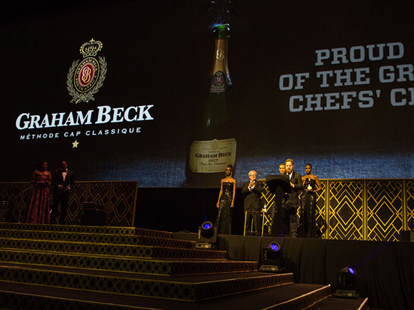 The winner of the very first Eat Out Graham Beck Chefs' Chef Award