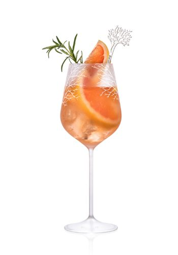 Fresh Meals Delivered >> Pink Grapefruit Spritz Recipe - EatOut