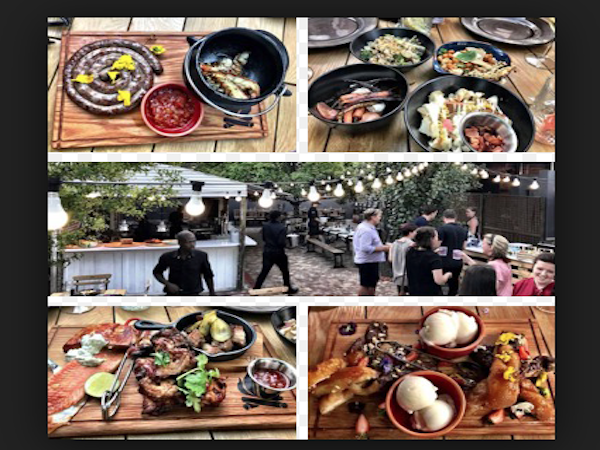 Hudsons – The Backyard Braai