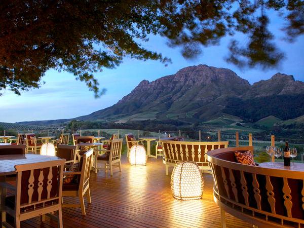 10 of the most glorious outdoor restaurants in the Winelands