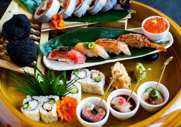 A Nobu spread