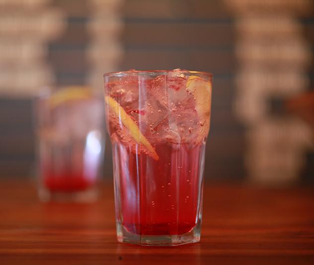A refreshing drink at Momo Baohaus. Photo supplied.