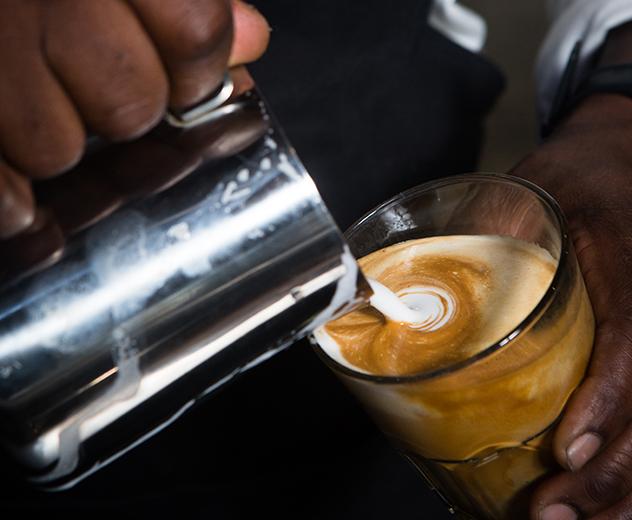 Bootlegger coffee at BCG_Photo by Jan Ras