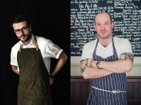Convivium 2018 chefs Christian F. Puglisi and Neil Rankin