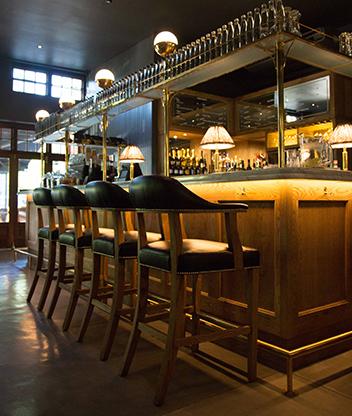 The bar at BCG