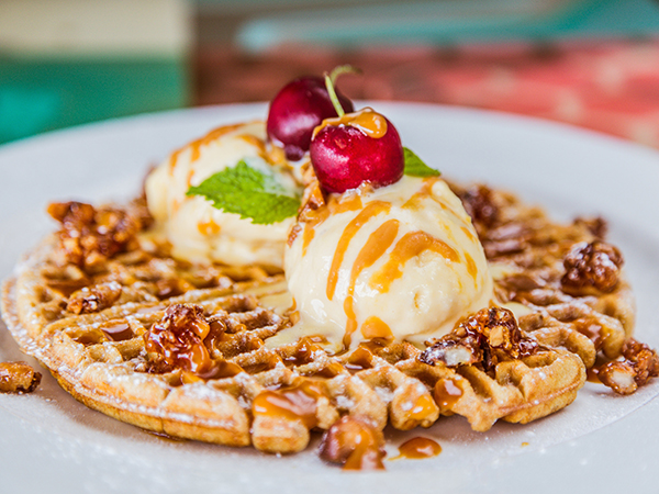 Where to get glorious golden waffles in Durban