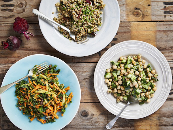 Three delicious dishes from Cafe Frank on Bree Street.