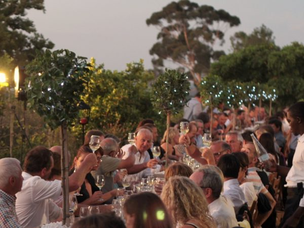 Longridge Langtafel open-air gala dinner